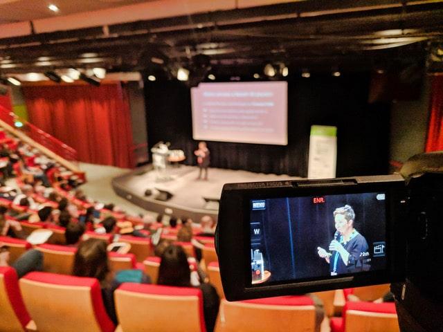 Valérie au WordCamp Bordeaux 2019