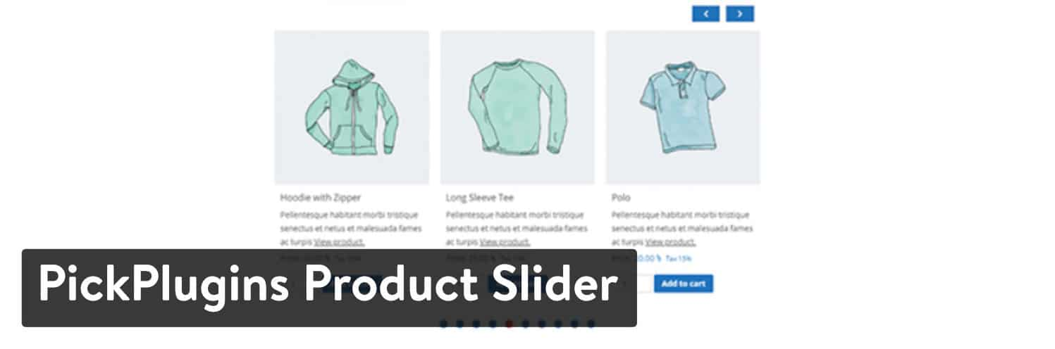 Plugin WordPress PickPlugins Product Slider for WooCommerce