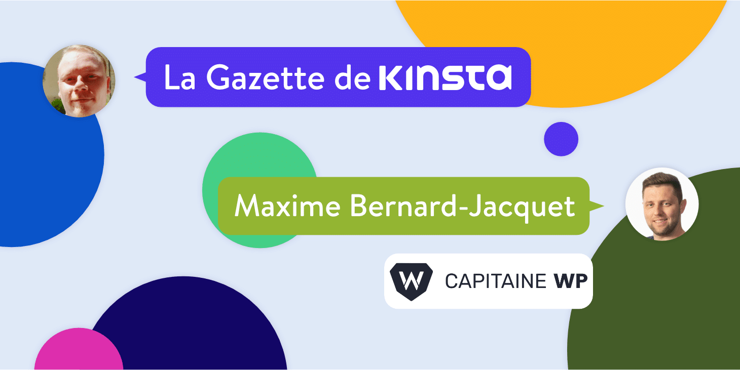 Interview avec Maxime Bernard-Jacquet