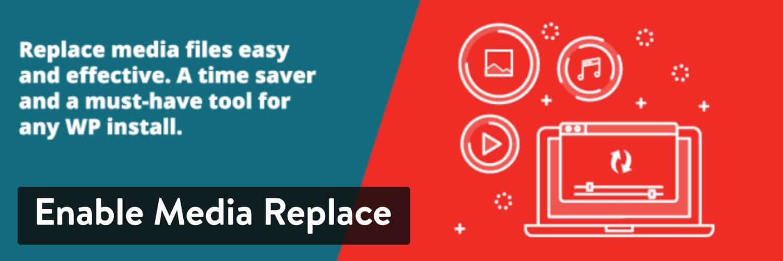 Plugin Enable Media Replace WordPress
