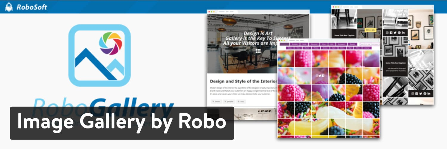 Extension WordPress Image Gallery by Robo
