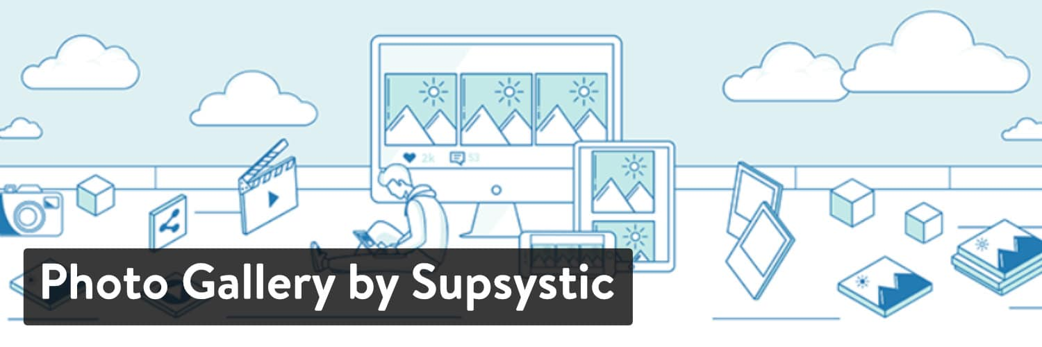 Extension WordPress Photo Gallery by Supsystic
