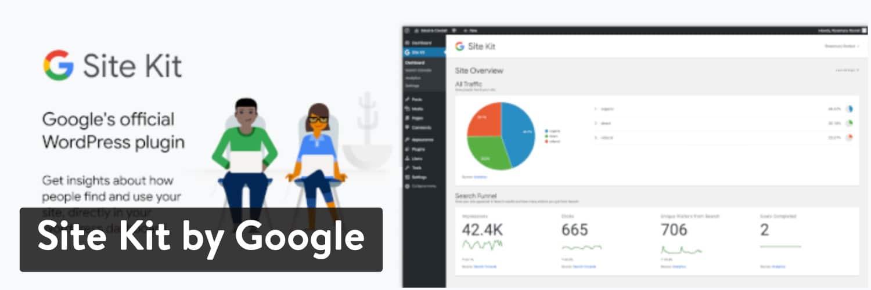 Extension WordPress Site Kit by Google