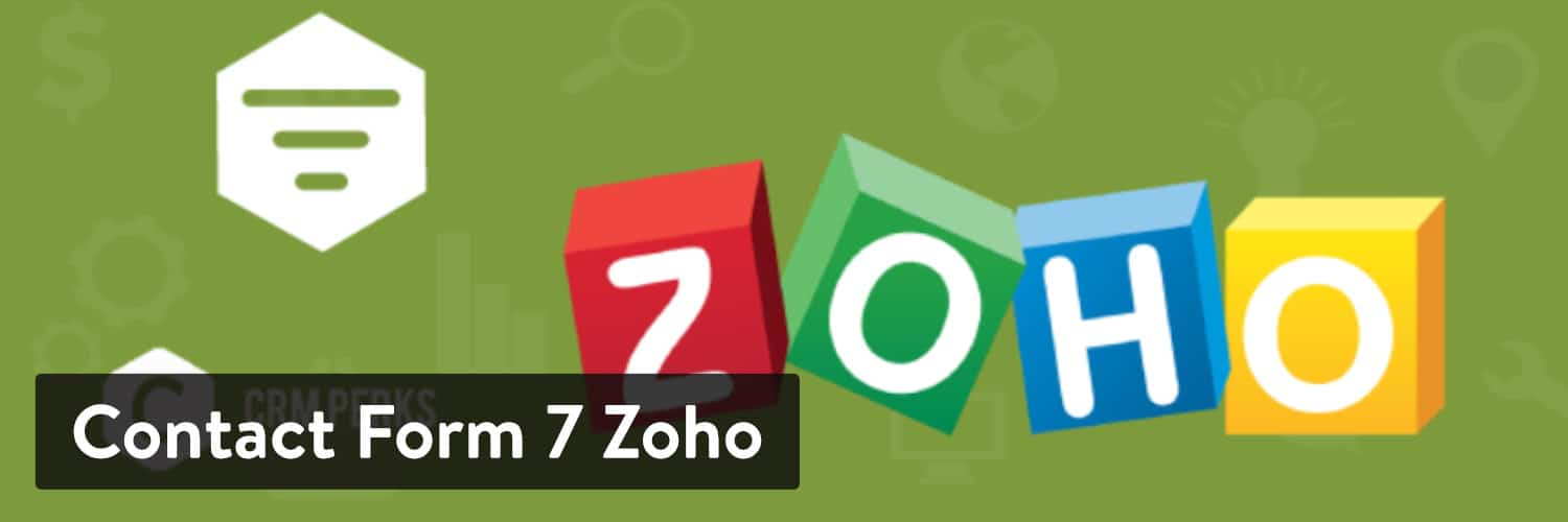 Extension WordPress Contact Form 7 Zoho