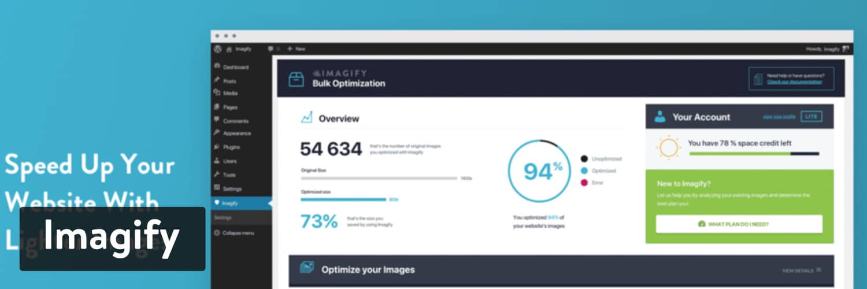 Extension WordPress Imagify