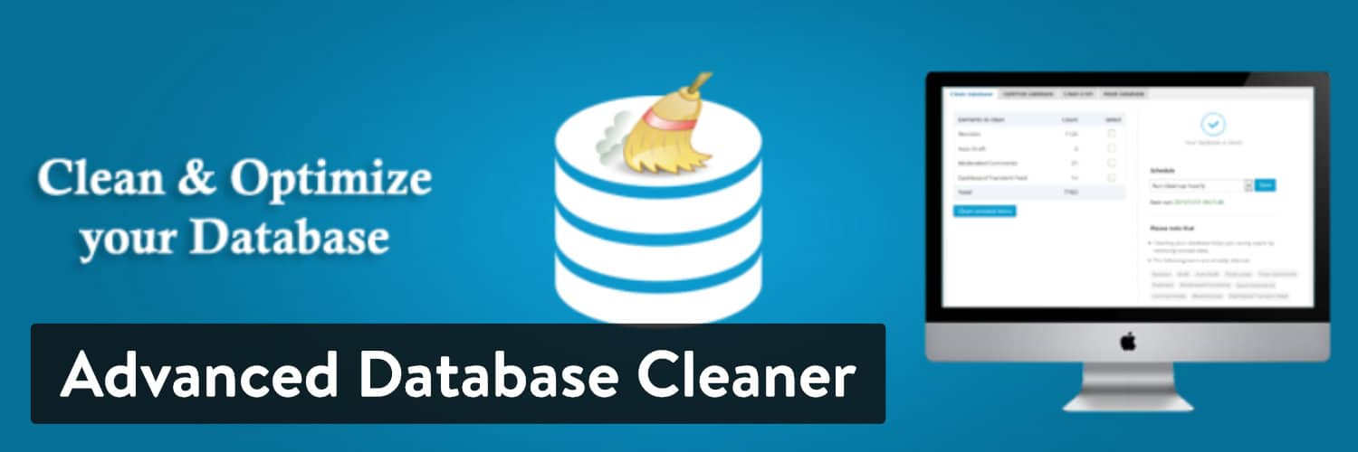 Extension WordPress Advanced Database Cleaner