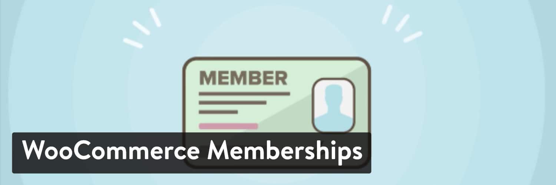 Extension WordPress WooCommerce Memberships