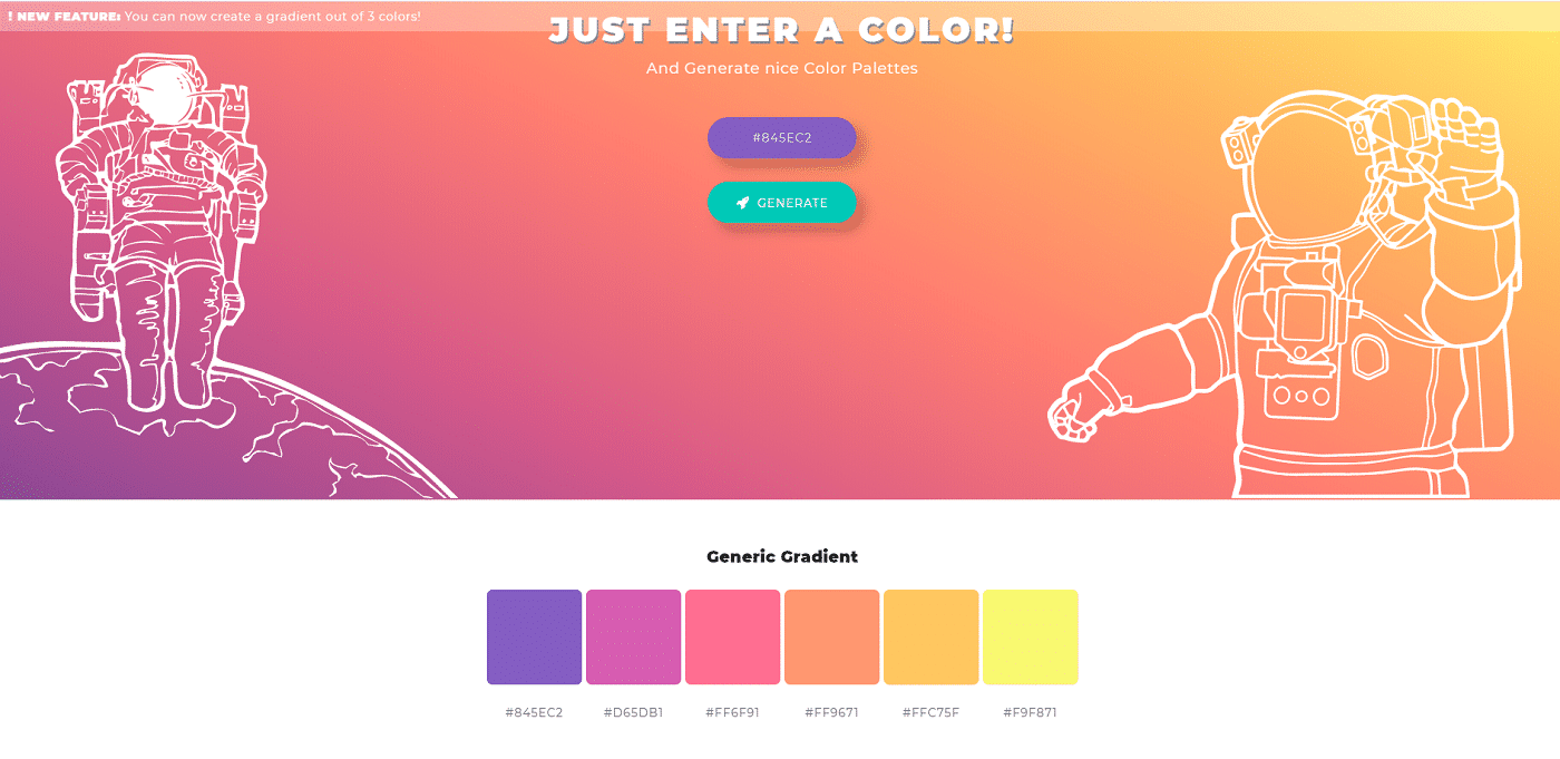 color space generator