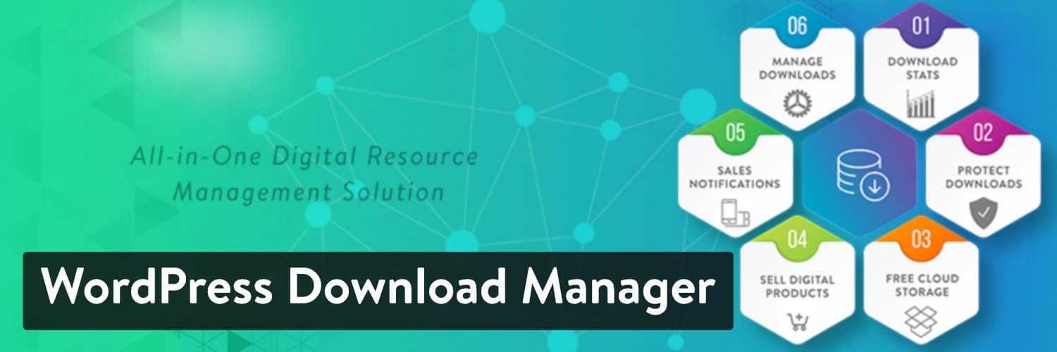 Extension WordPress Download Manager