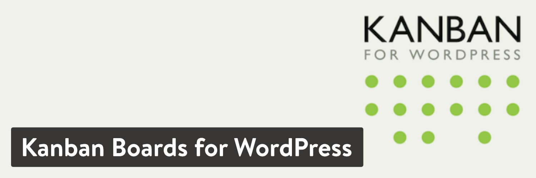 Extension Kanban Boards for WordPress