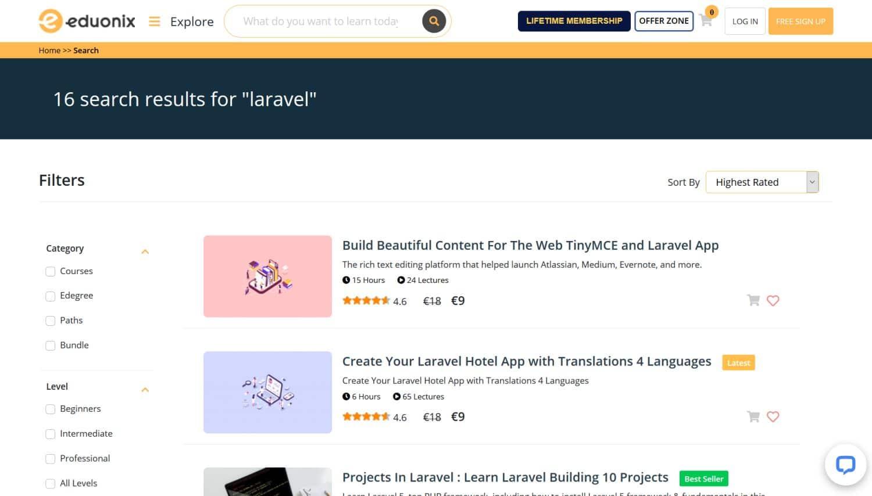 Eduonix - Laravel tutorial
