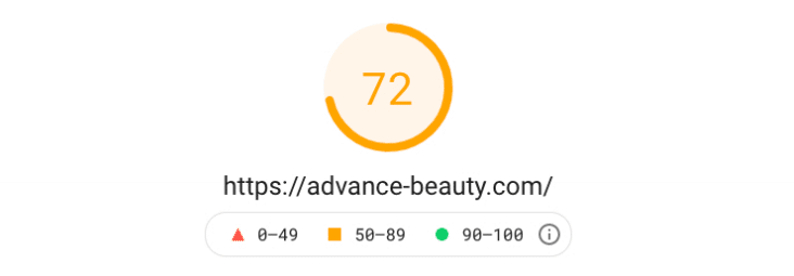 Test Advance Beauty Après Kinsta