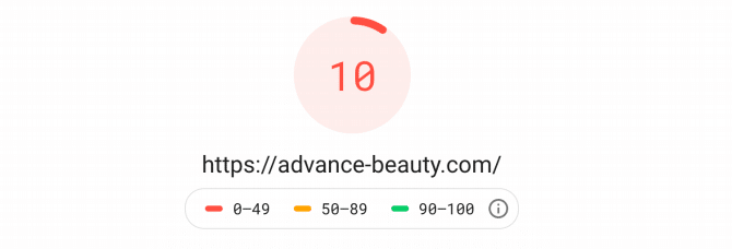 Test Advance Beauty Avant Kinsta