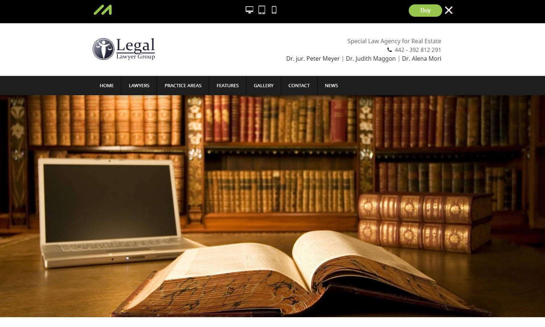 Legal schermata