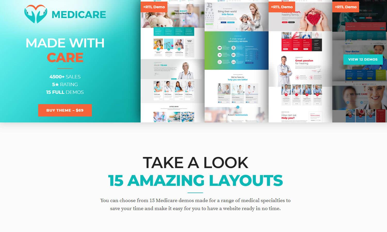 Medicare schermata