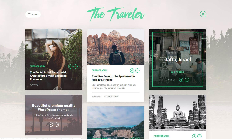 The Traveler schermata