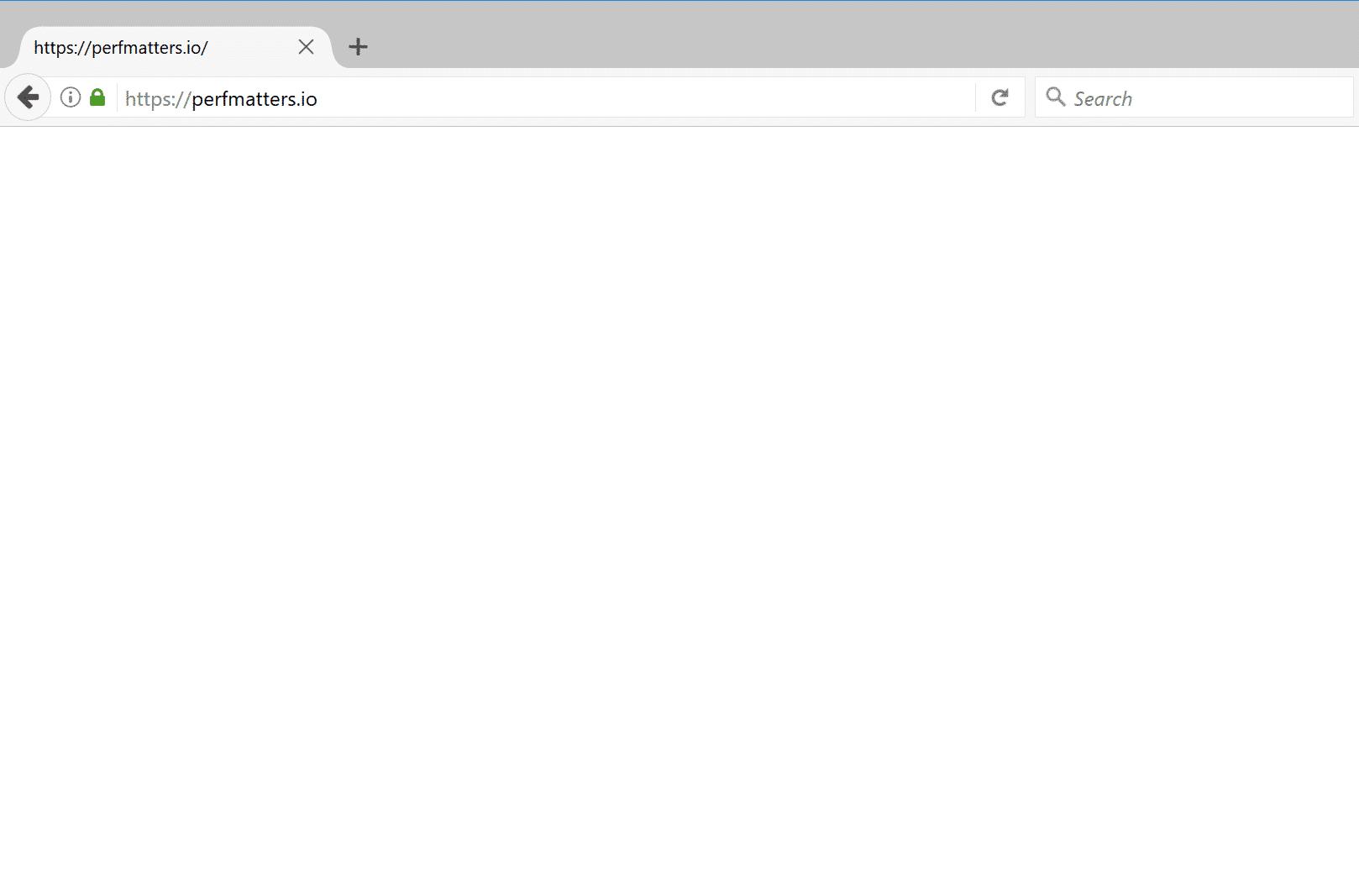 Lo Schermo Bianco della Morte di WordPress in Mozilla Firefox