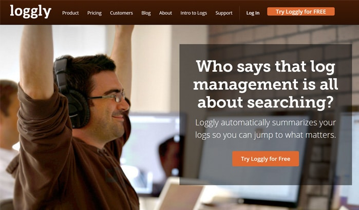 siti wordpress loggly