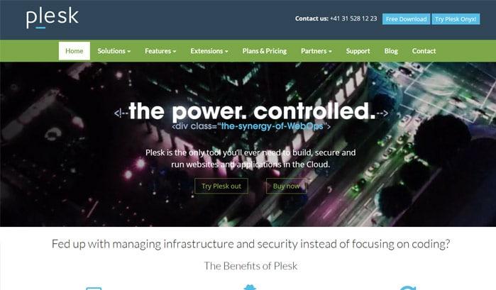 siti wordpress plesk