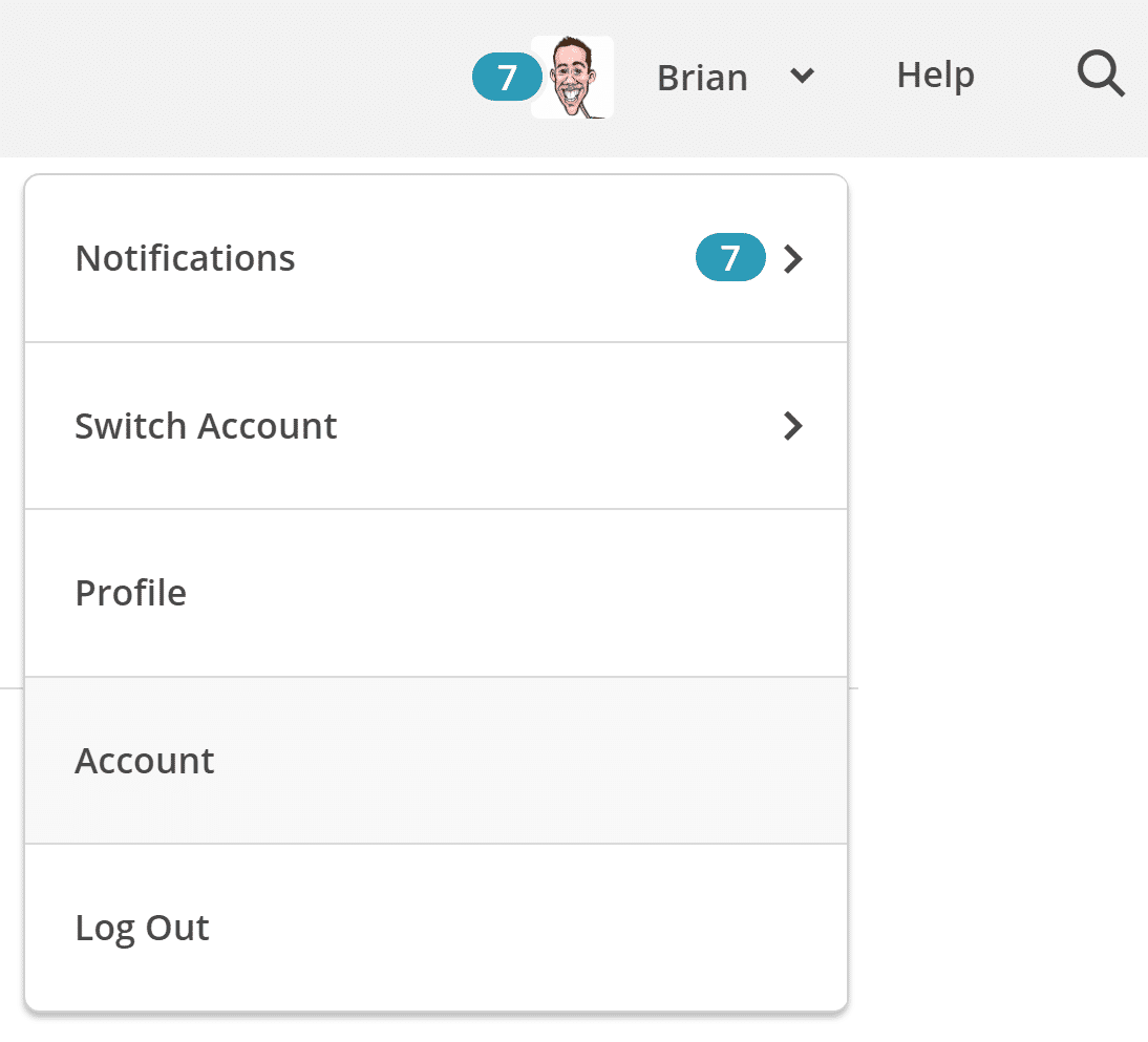 Account MailChimp