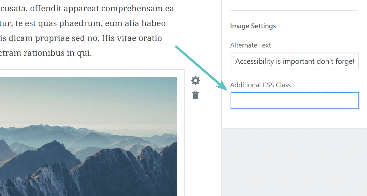 Aggiungere una classe CSS