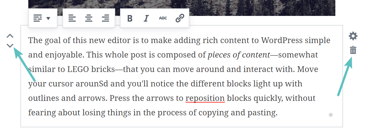 Lavorare con i blocchi di Gutenberg