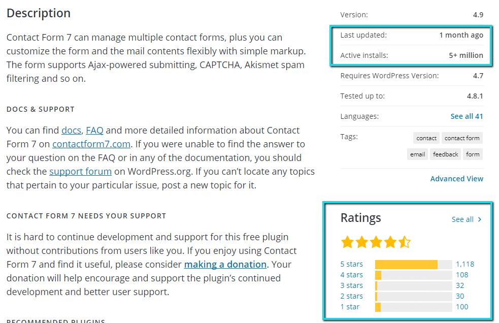 Cosa cercare prima di installare un plugin di WordPress