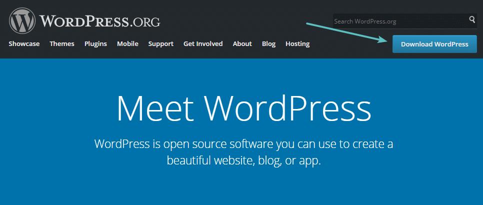 Scaricare la copia più recente di WordPress