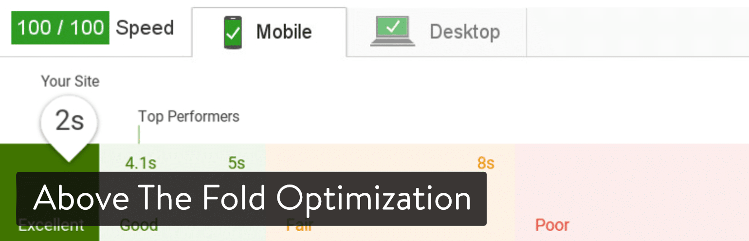 Above the Fold Optimization per WordPress