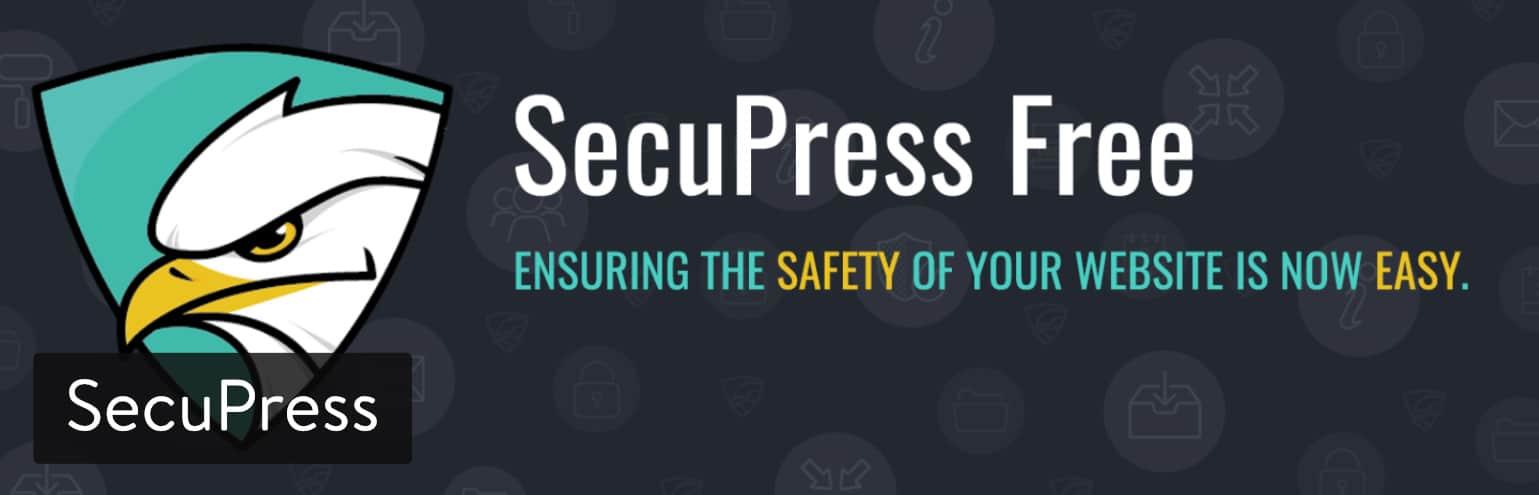 Plugin WordPress di sicurezza: SecuPress