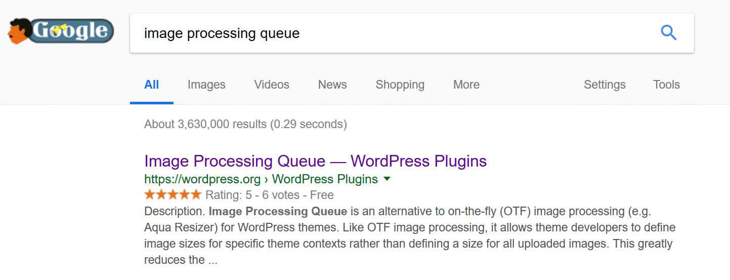 Image Processing Queue