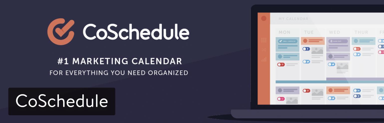 Il plugin WordPress CoSchedule