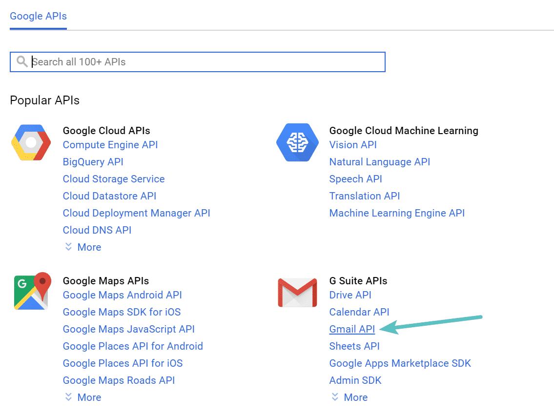API Gmail