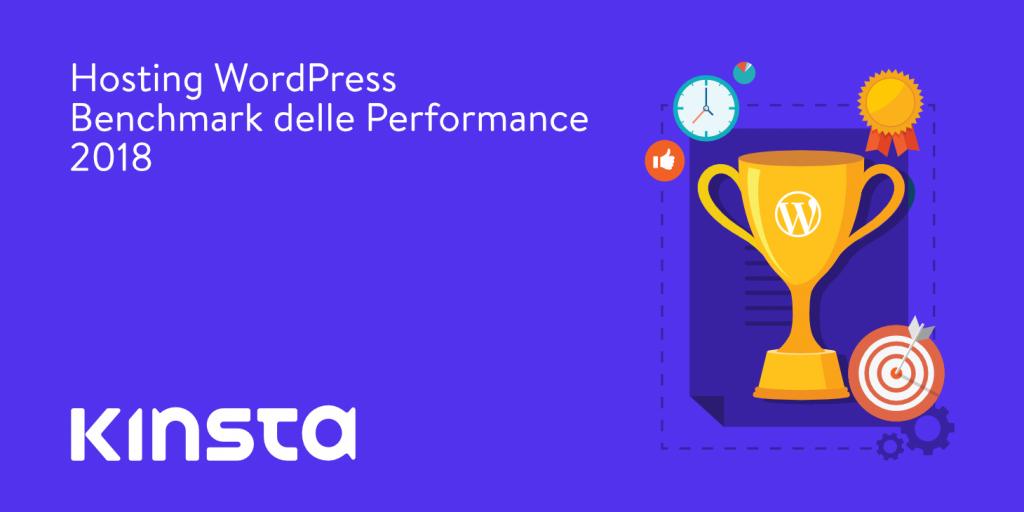 Benchmark performance WordPress 2018