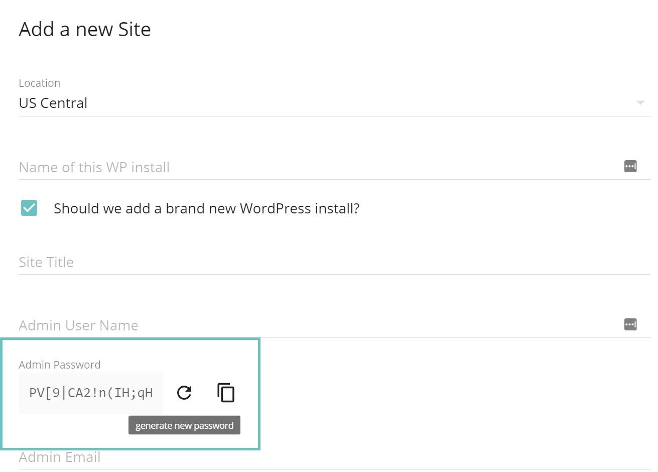 Forzare password WordPress sicura