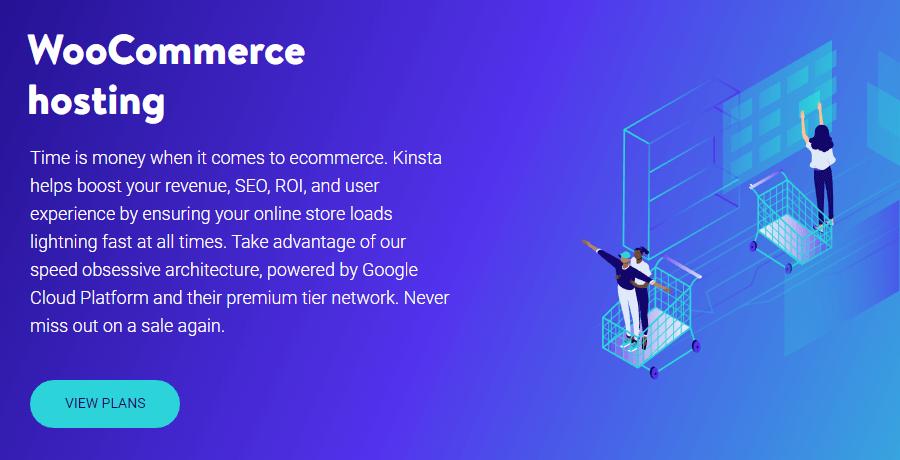 Piani di hosting per WooCommerce di Kinsta