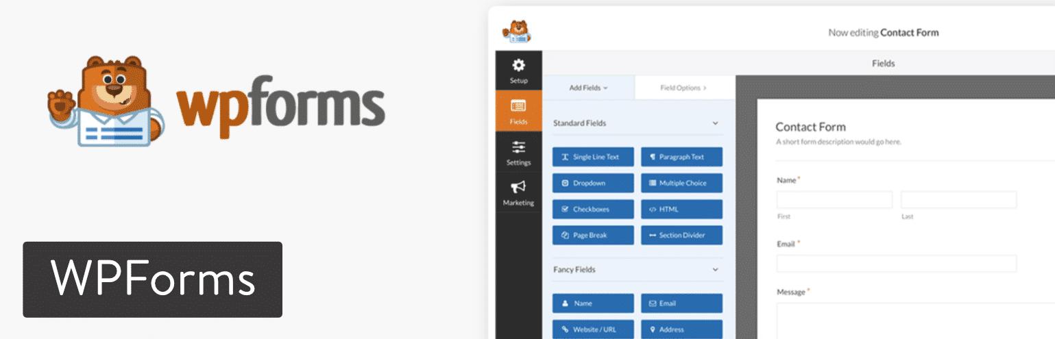 Il plugin per WordPress WPForms