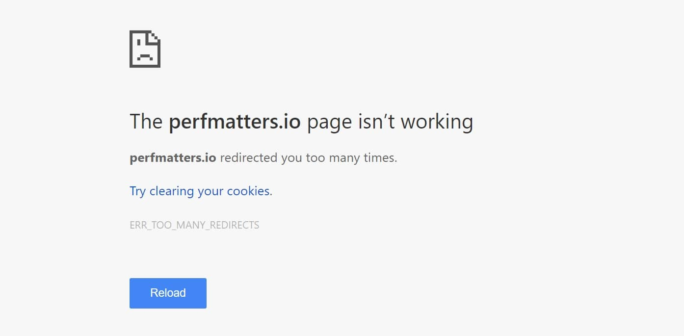 Errore di Flexible SSL in Cloudflare