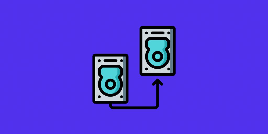 Utilizzo disco hosting WordPress