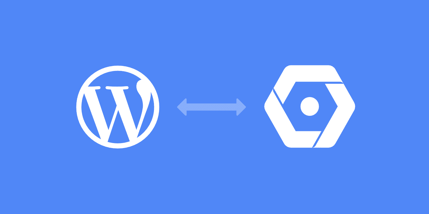 WordPress google cloud storage