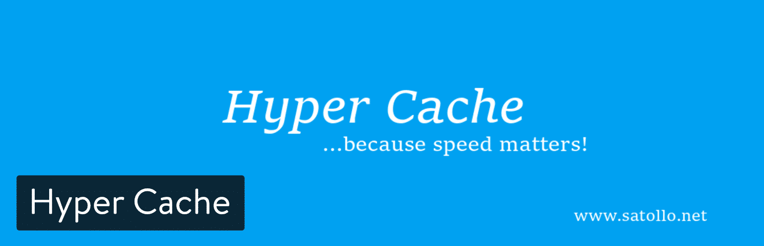 Il plugin WordPress Hyper Cache