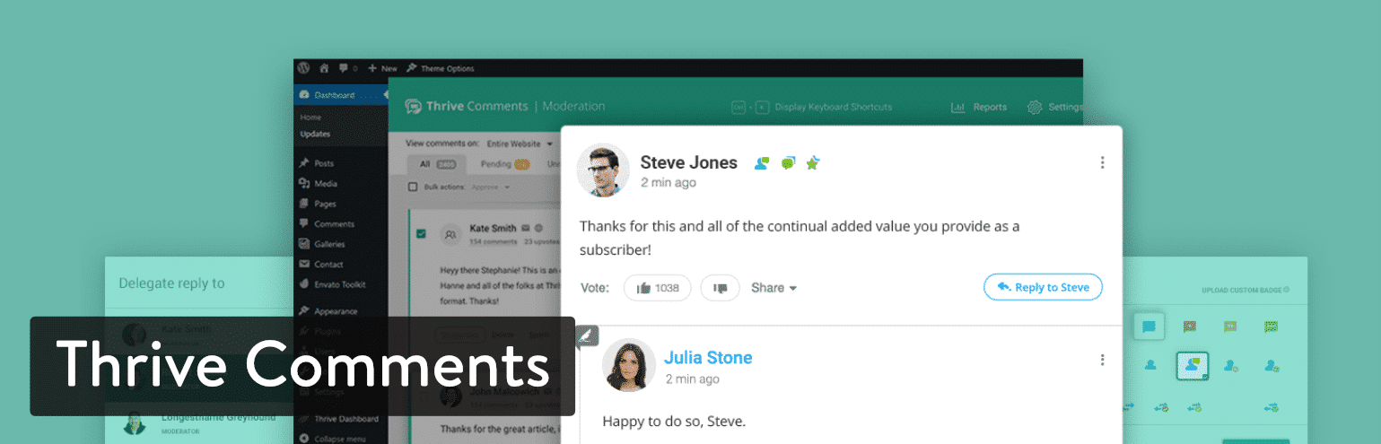 Il plugin WordPress Thrive Comments