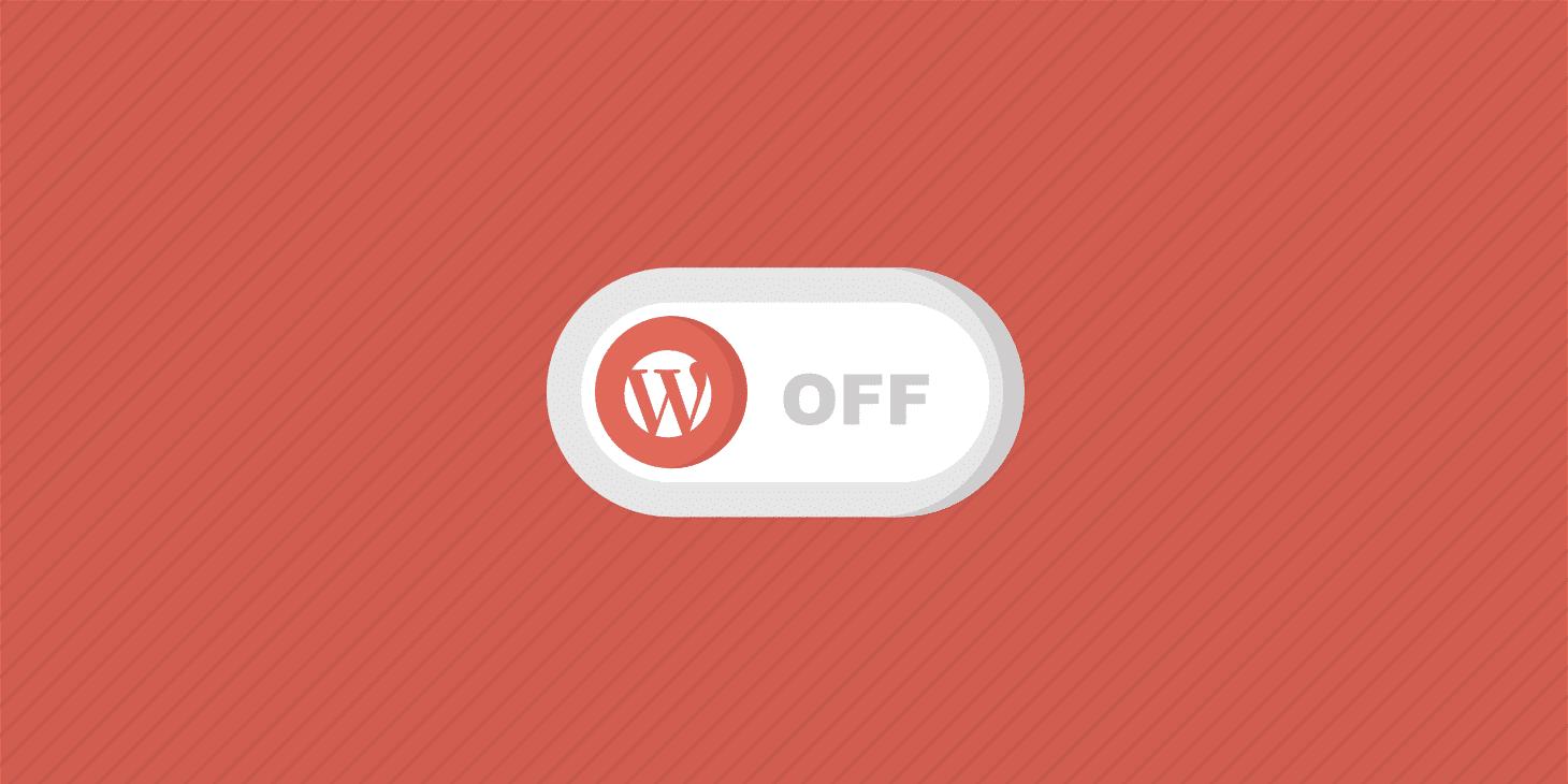 Come Disattivare I Plugin Di WordPress