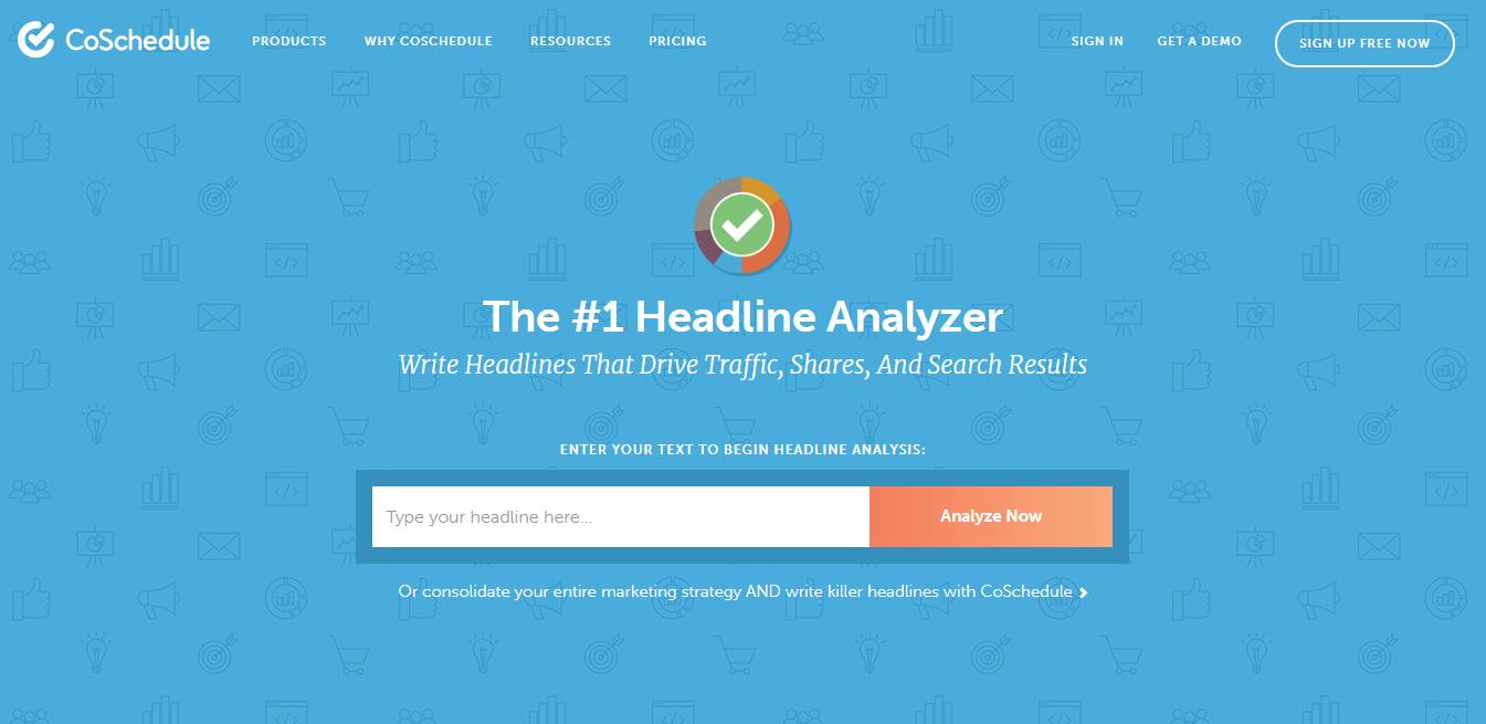 I migliori strumenti di analisi delle headline: CoSchedule Headline Analyzer