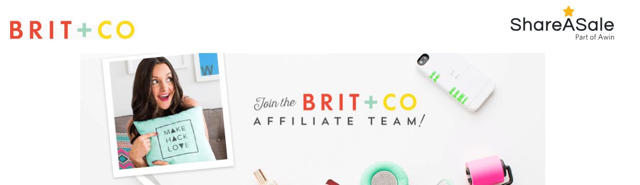 Brit + Co utilizza ShareASale