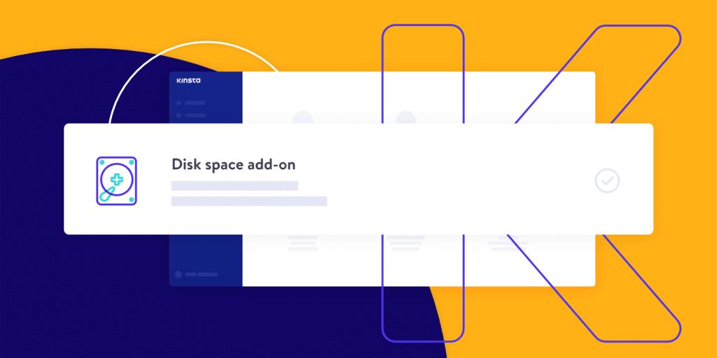 Add-on spazio disco