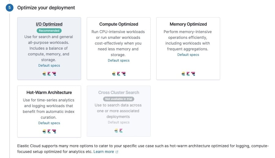 Gli utenti di Elastic possono scegliere come la loro distribuzione di Elasticsearch viene ottimizzata