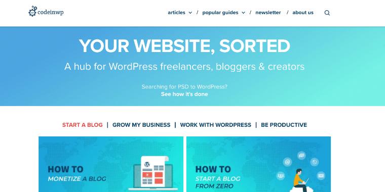 CodeinWP necessitava di una soluzione di hosting WordPress ottimizzata