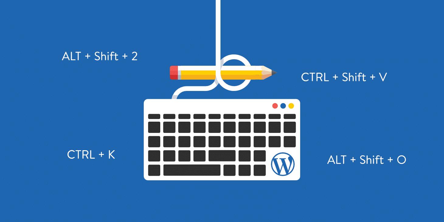 Scorciatoie da Tastiera per WordPress
