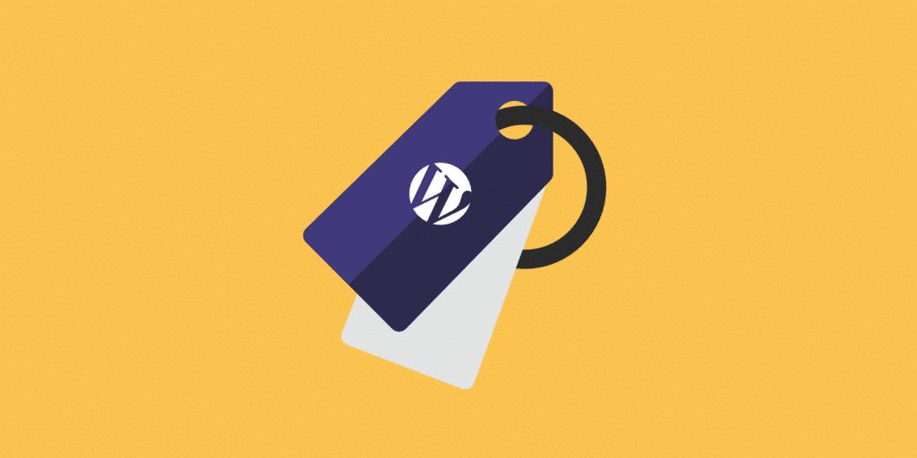 cosa sono i tag di WordPress
